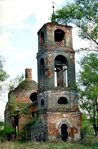 Вознесенская церковь в селе Еремеево