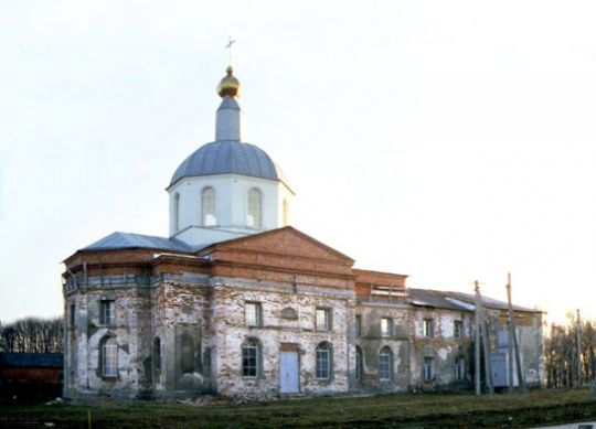 Вознесенский храм в городе Люботине