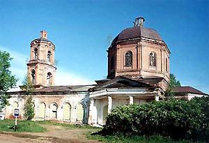 Вознесенская церковь в Шулке